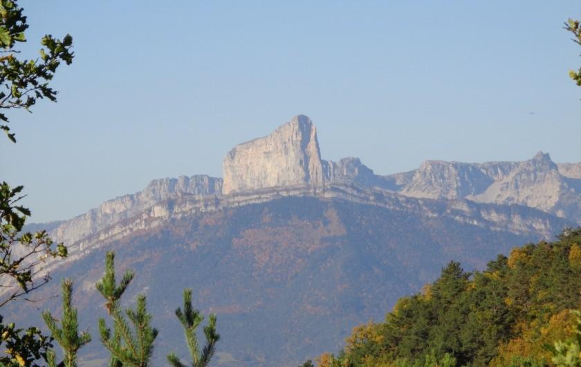 Location de vacances - Villa à Pierre-Châtel - Le Mont Aiguille