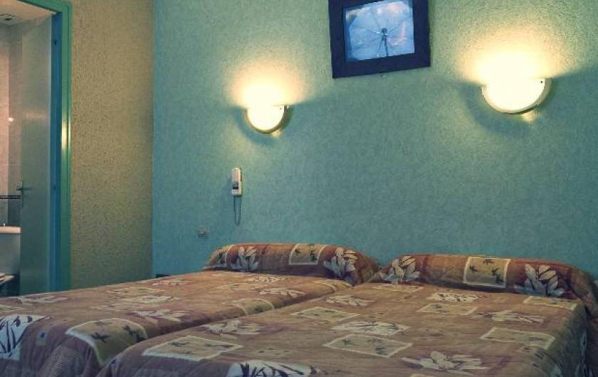Location de vacances - Hôtel - Auberge à Dijon - Chambre twin