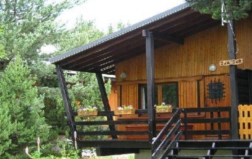 Location de vacances - Chalet à Font-Romeu-Odeillo-Via