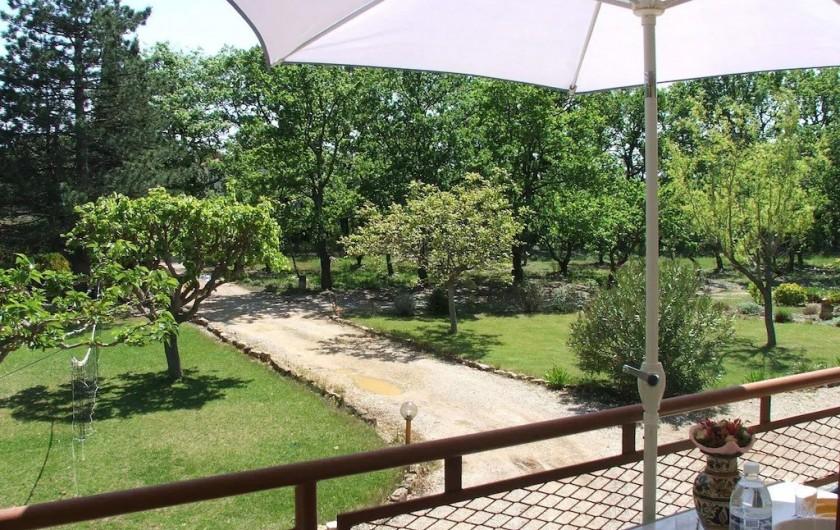 Location de vacances - Appartement à Sarrians