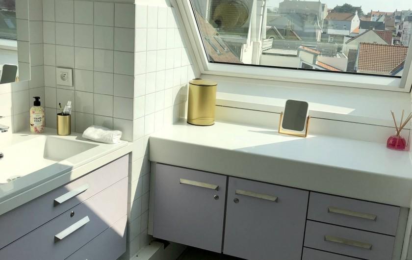 Location de vacances - Appartement à Wimereux - Salle de bain