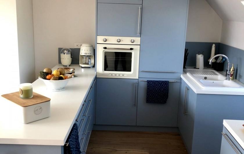 Location de vacances - Appartement à Wimereux - Equipée matériel SMEG