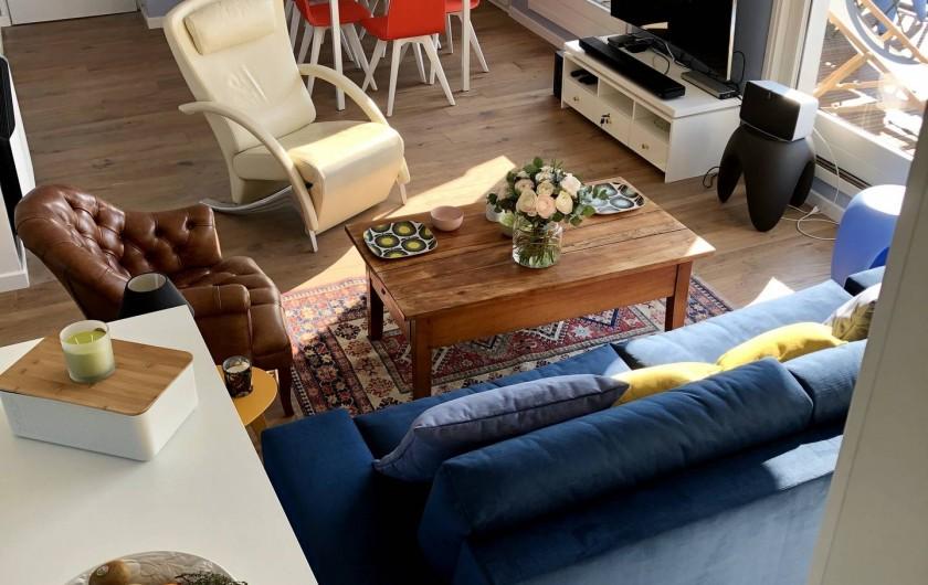Location de vacances - Appartement à Wimereux - Salon