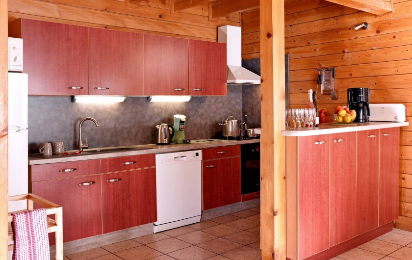 Location de vacances - Chalet à Châtel - cuisine