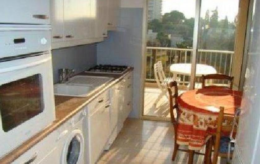 Location de vacances - Appartement à Juan les Pins