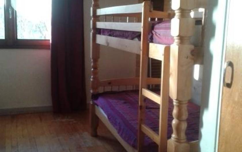 Location de vacances - Appartement à Ancelle - CHAMBRE ENFANTS