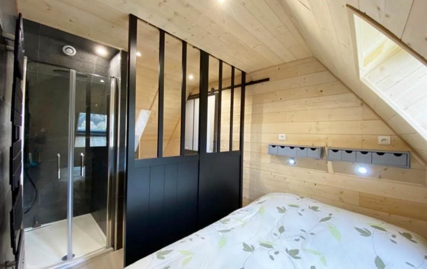Location de vacances - Gîte à Sainte-Marie de Campan - la cuisine, accessible de la pièce à vivre et directement de la terrasse