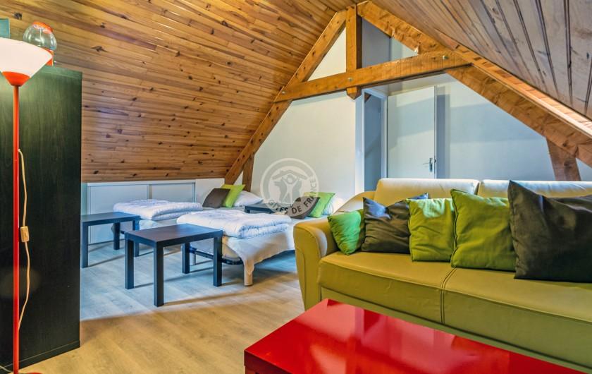 """Location de vacances - Gîte à Sainte-Marie de Campan - la grange du """"Gaciet"""", premier voisin du Carot à 200 m"""
