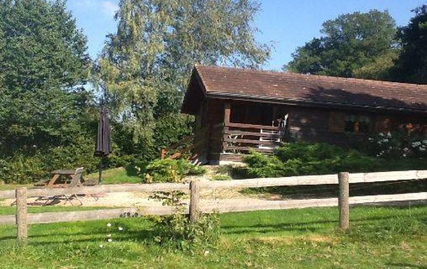 Location de vacances - Chalet à Curgy