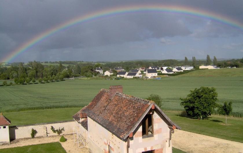 Location de vacances - Gîte à Saint-Jean-Saint-Germain - Vue sur notre village