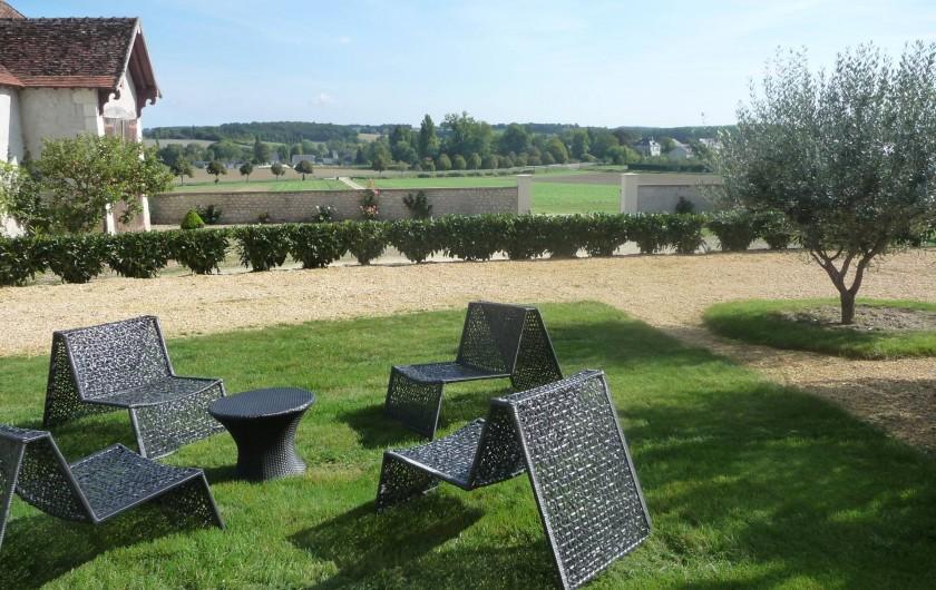 Location de vacances - Gîte à Saint-Jean-Saint-Germain - Jardin du Gite