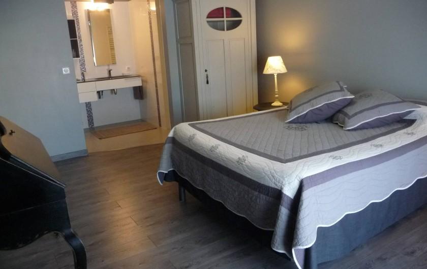 Location de vacances - Gîte à Saint-Jean-Saint-Germain - Une chambre avec sdb et wc privatifs