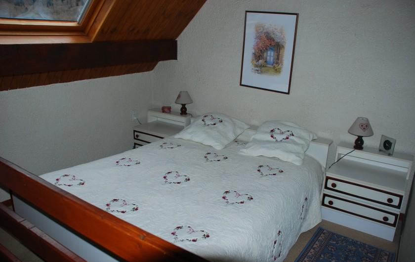 Location de vacances - Appartement à Cauterets - Chambre parentale