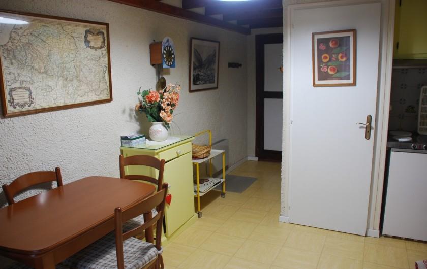 Location de vacances - Appartement à Cauterets - Salle à manger
