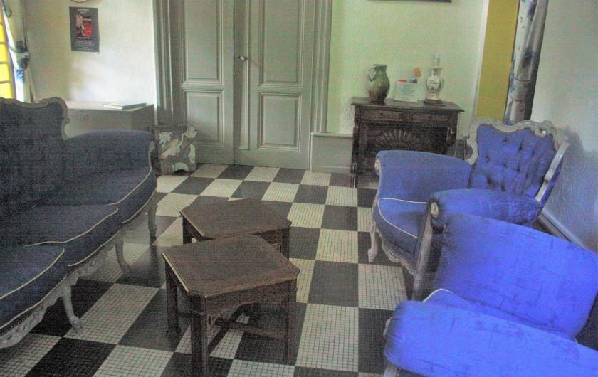 Location de vacances - Château - Manoir à Burzet - Salon de musique