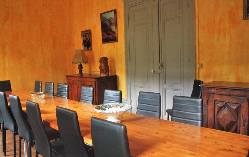 Location de vacances - Château - Manoir à Burzet - Salle à manger