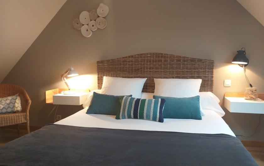 Location de vacances - Villa à Cléder - Chambre 1