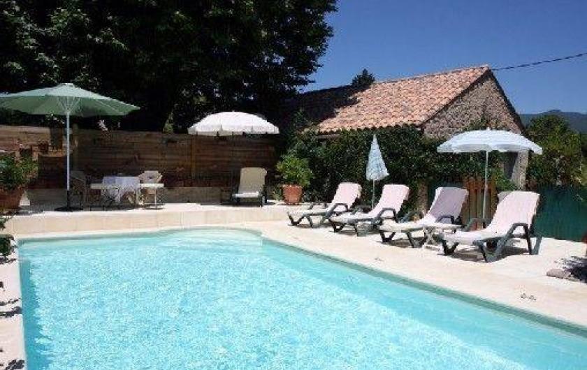 Location maison avec piscine dans le luberon en provence apt for Location villa piscine luberon