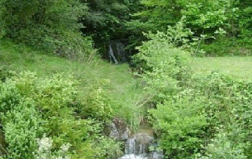 Location de vacances - Villa à Les Salelles - jolie cascade à proximité