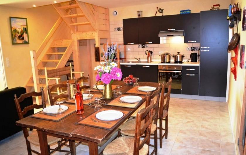 Location de vacances - Gîte à Brugnac - Salle à manger Appollo