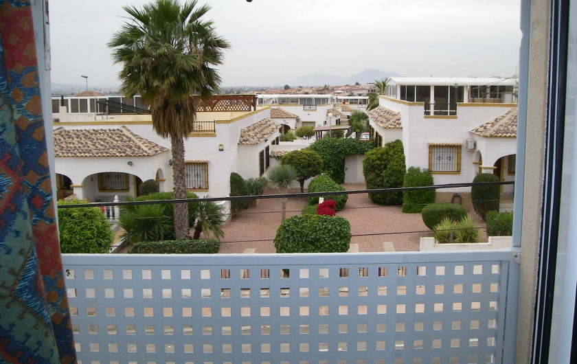 Location de vacances - Appartement à San Fulgencio - Vue de la chambre 1