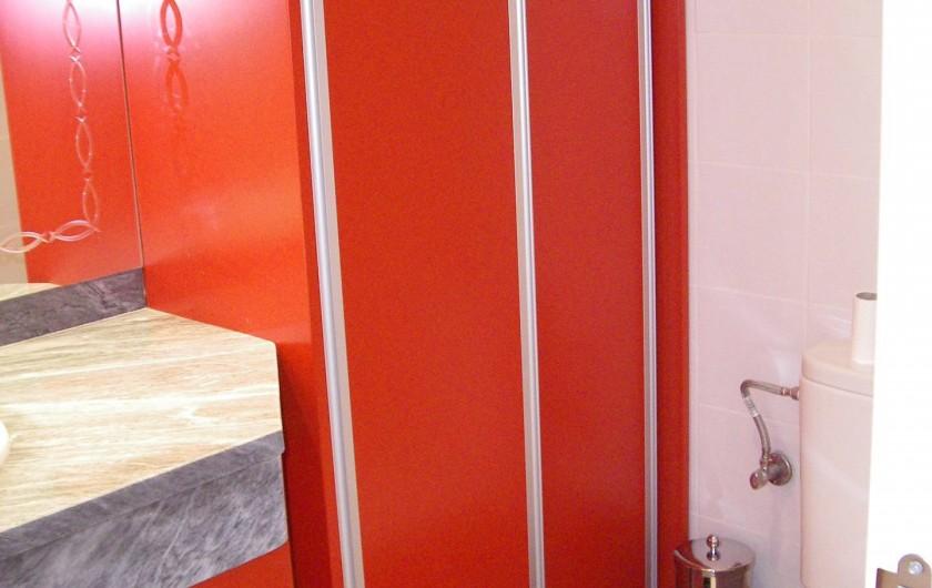 Location de vacances - Appartement à San Fulgencio - Petite salle de bain