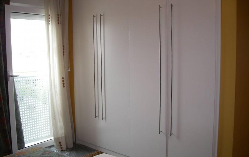 Location de vacances - Appartement à San Fulgencio - Chambre 1 - Armoire