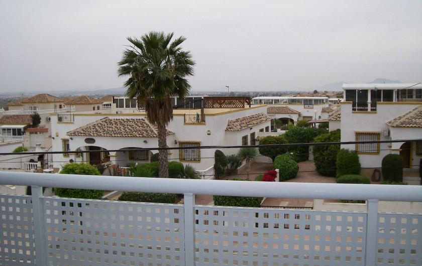 Location de vacances - Appartement à San Fulgencio - Vue de la terrasse salon
