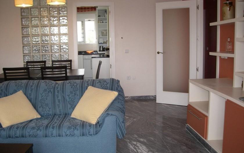 Location de vacances - Appartement à San Fulgencio - Salon