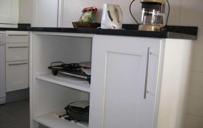 Location de vacances - Appartement à San Fulgencio - Cuisine, ilot de travail