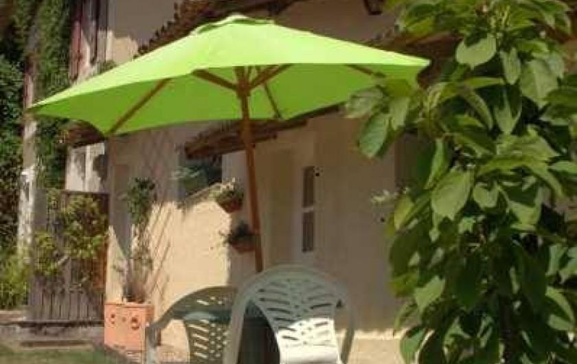Location de vacances - Gîte à Guitres - Le Coutrillon Gite 2/4 Personnes
