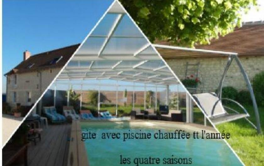 Gite Avec Piscine Chauffe Spa En Touraine Indre Et Loire