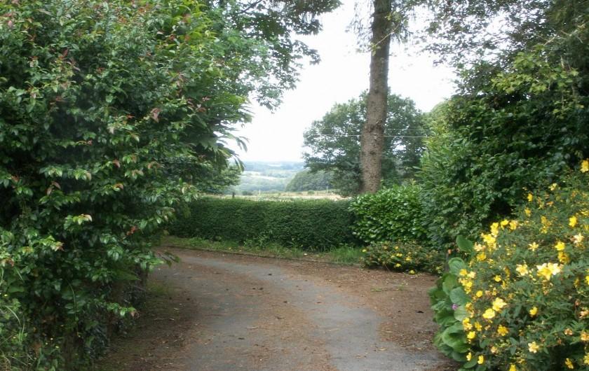 Location de vacances - Gîte à Bieuzy - accès à la propriété