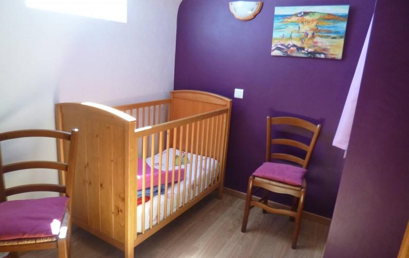 Location de vacances - Gîte à Bieuzy - le coin bébé