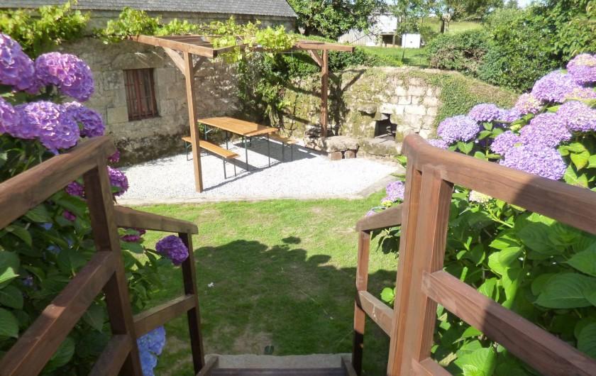 Location de vacances - Gîte à Bieuzy - le jardin clos