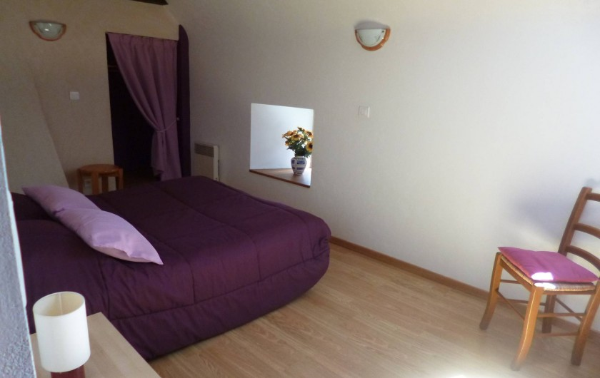 Location de vacances - Gîte à Bieuzy - chambre parentale