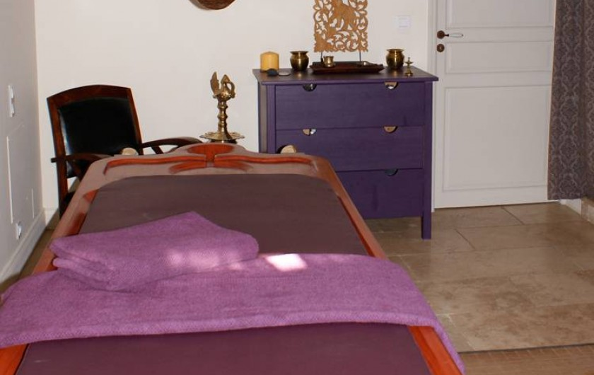 Location de vacances - Gîte à Cairanne - Salle de Massage