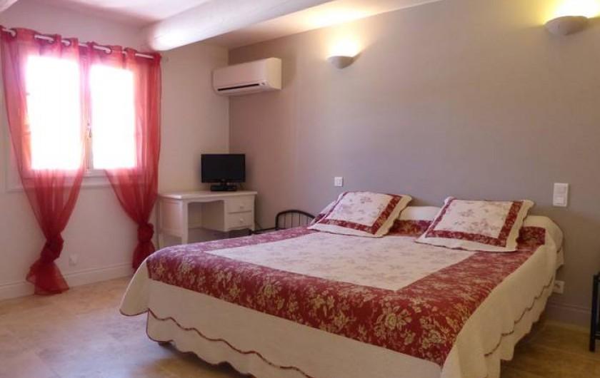 Location de vacances - Gîte à Cairanne - Gîte Le Cerisier, chambre