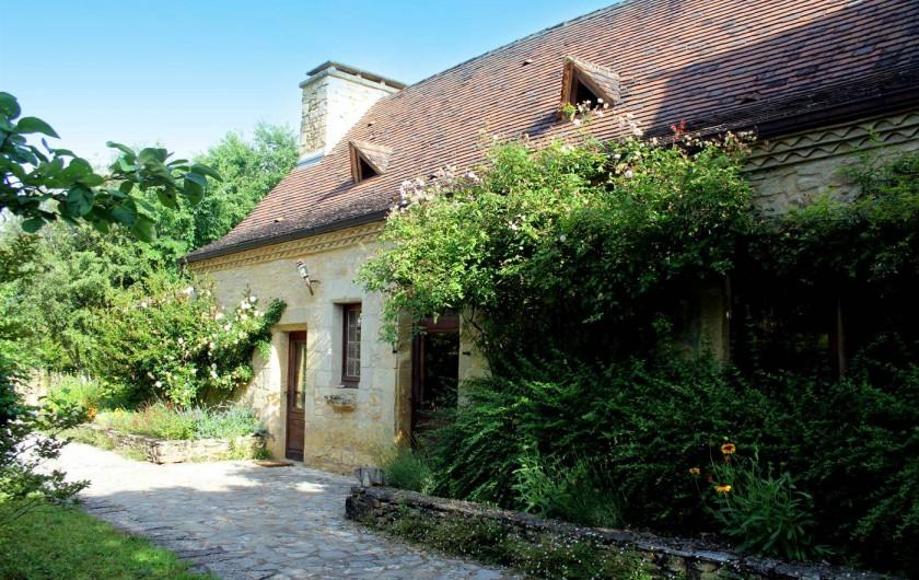 Location de vacances - Gîte à Saint-Cybranet - entrée sud