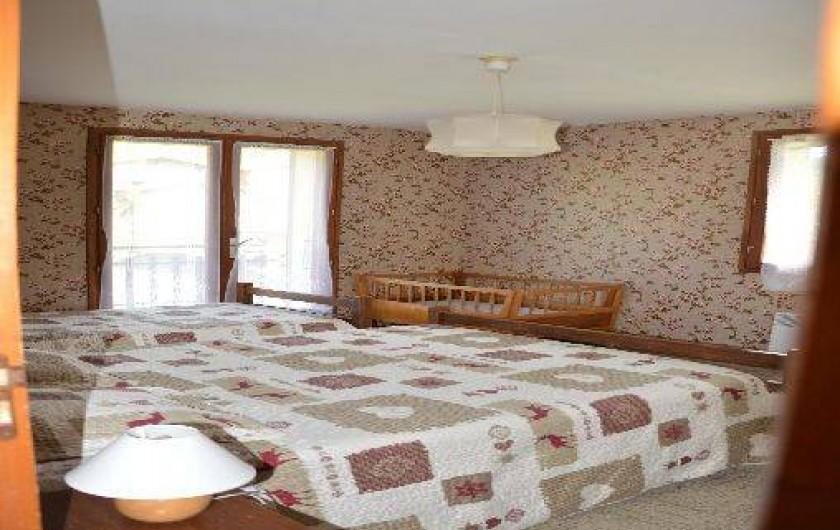 Location de vacances - Chalet à Crest-Voland - Le Fayard Chambre 1