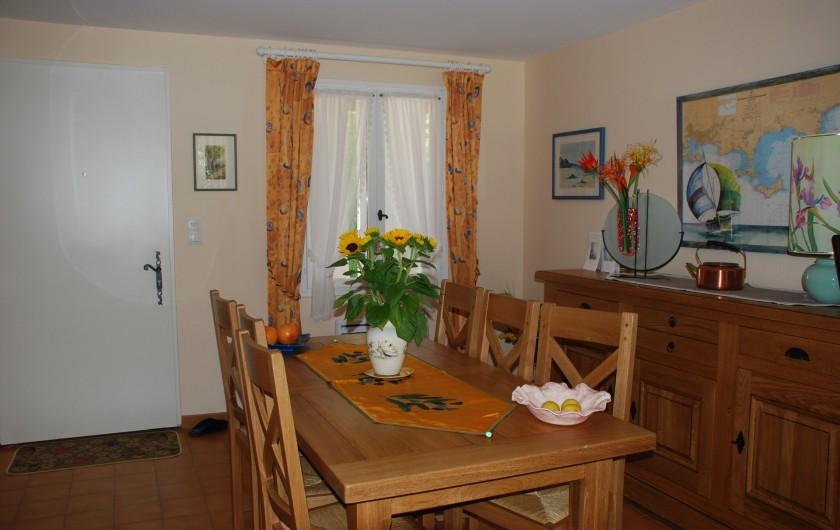 Location de vacances - Villa à La Londe-les-Maures - Salle a manger