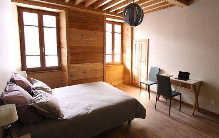 Location de vacances - Gîte à Faverges - Chambre double