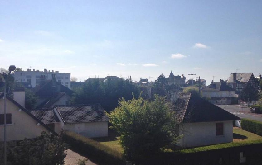 Location de vacances - Appartement à Villers-sur-Mer - Vue du balcon