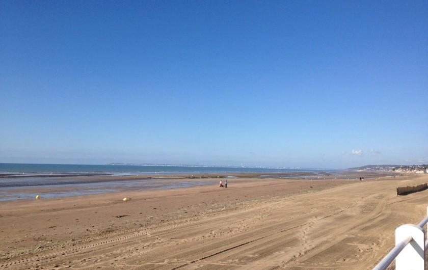 Location de vacances - Appartement à Villers-sur-Mer - La plage de Villers sur mer