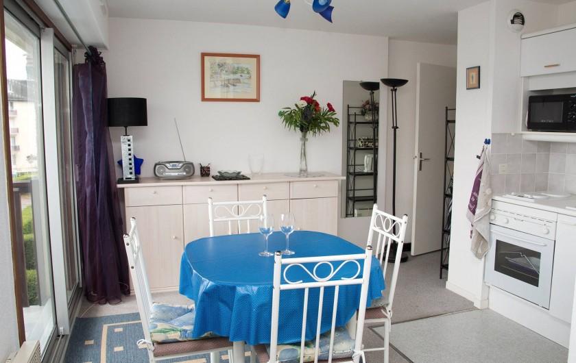 Location de vacances - Appartement à Villers-sur-Mer - Séjour