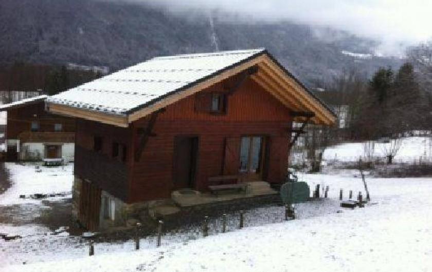 Location de vacances - Chalet à Taninges - hiver février 2016