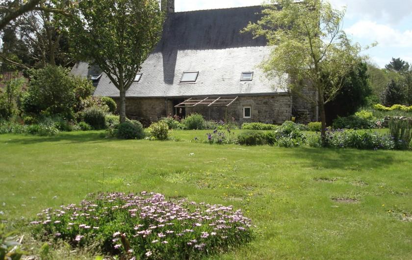 Location de vacances - Gîte à Melgven - Notre jardin en accès libre