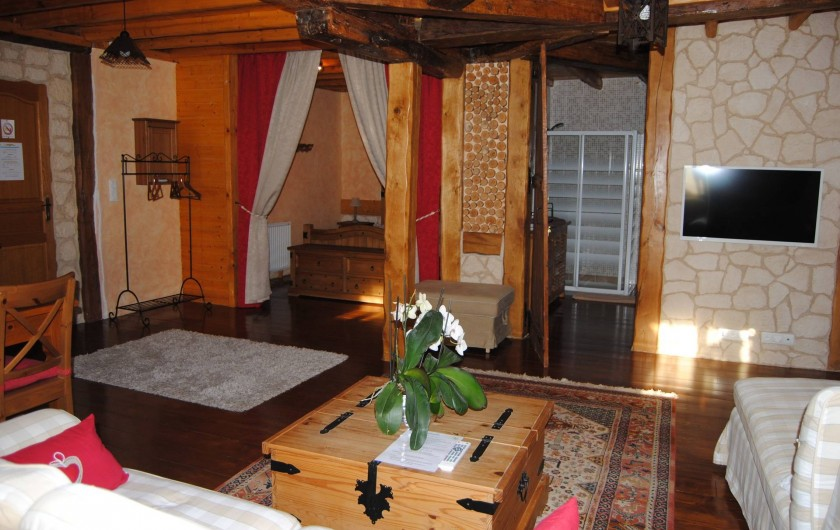 Location de vacances - Maison - Villa à Beaujeu-Saint-Vallier-Pierrejux-et-Quitteur - Chambre N°2