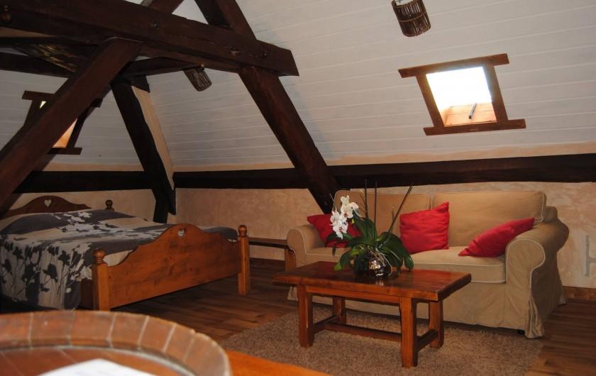 Location de vacances - Maison - Villa à Beaujeu-Saint-Vallier-Pierrejux-et-Quitteur - Chambre N°3