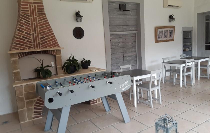 Location de vacances - Maison - Villa à Beaujeu-Saint-Vallier-Pierrejux-et-Quitteur - babyfoot